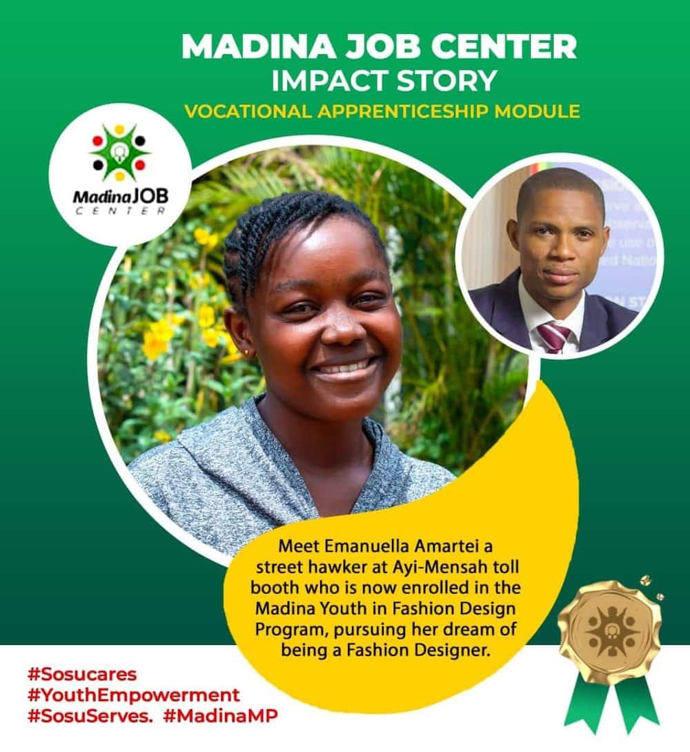 Madina MP's youth programme. Photo: Francis-Xavier Sosu.