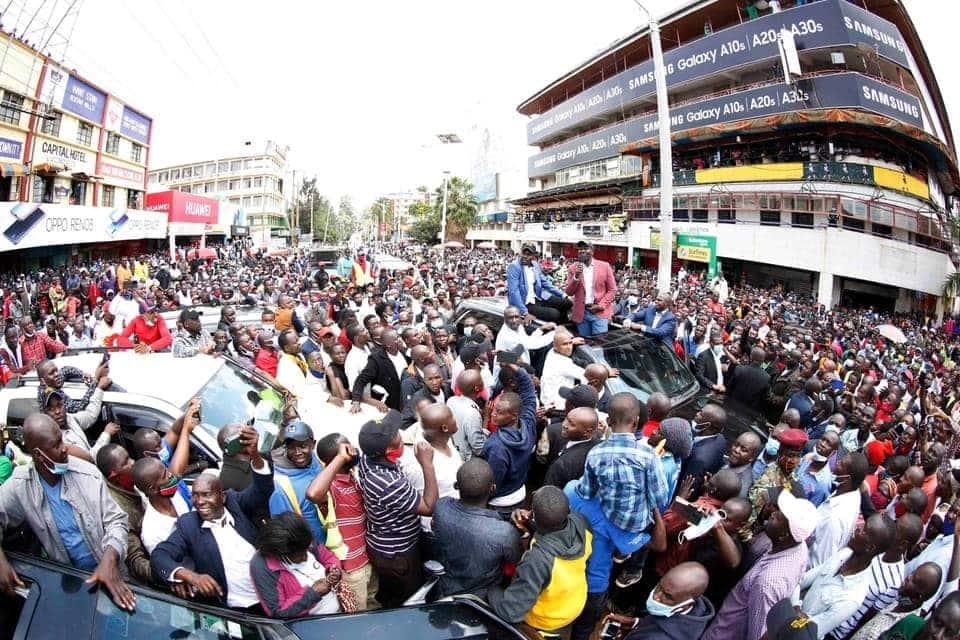 DP Ruto apokelewa kwa shangwe Kisii