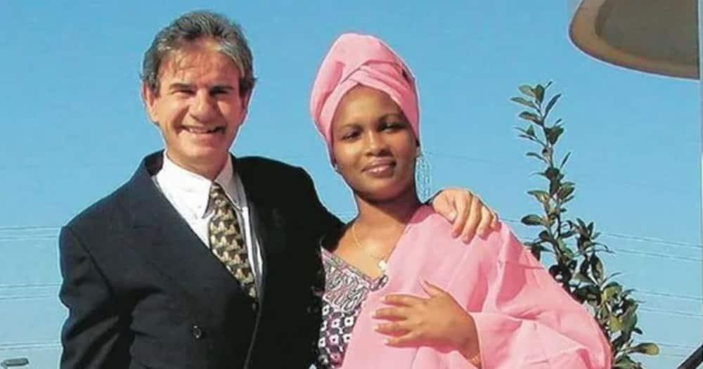 Tob Cohen and his wife Sarah Wairimu. Photo: Nation.