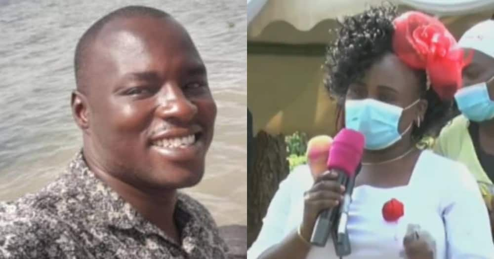 John Ogweno and his wife, Juliet Ogweno. Photo: The Kenya Police / NTV.