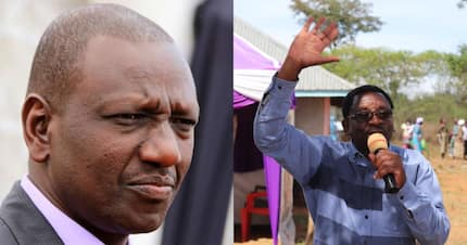 Kenyans on Orengo's case after failing to recognise DP Ruto in social media post