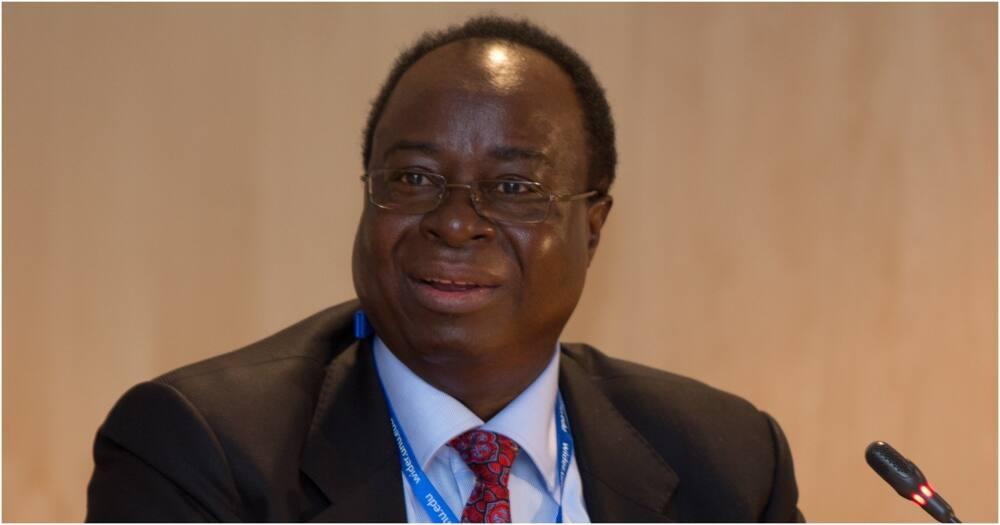 Former governor of the Bank of Tanzania Benno Ndulu. Photo: BoT