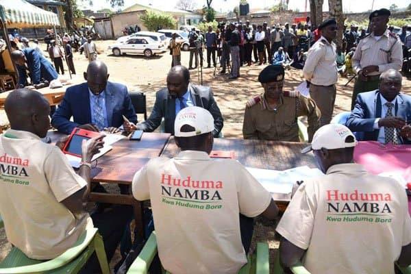 Huduma registration deadline in Kenya