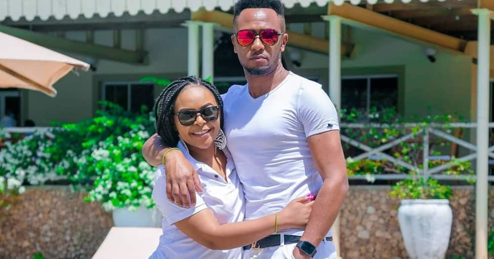 DJ Mo takes wife Size 8 on Mombasa baecation to mark anniversary after cheating pardon