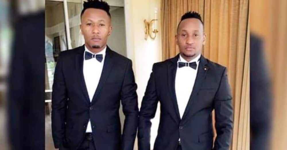 Like Twins: DJ Mo and TV Host Martin Kimathi Step out in Matching Suits