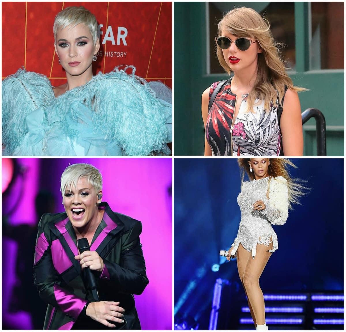 10 highest paid female musicians 2018