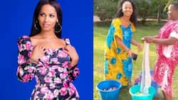 Comedian Eric Omondi's Italian Ex Stuns Fans with Perfect Swahili Speaking Skills in Hilarious Conversation