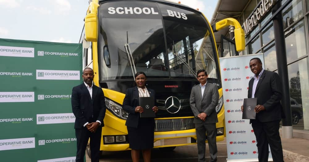 DT Dobie and Co-op Bank announce KSH 1bn leasing deal for Mercedes Benz buses