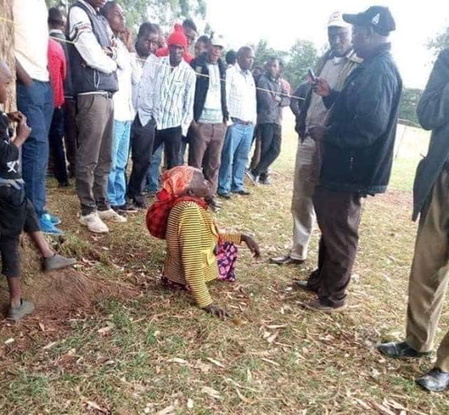 Bomet man successfully gets KDF job after being accompanied by elderly mum who wins recruiters' hearts