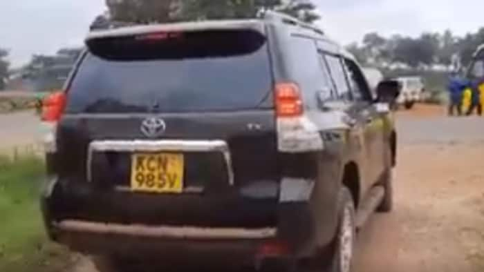 Murang'a: Police Arrest Father of Boy Caught on Camera Driving Prado