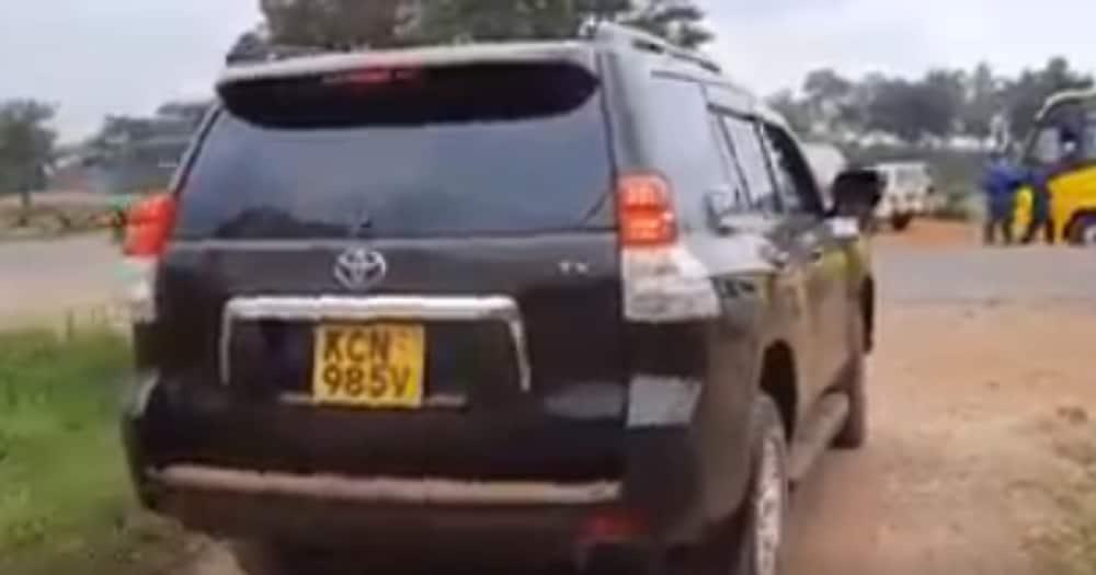 Murang'a: Polisi Wamkamata Baba wa Mtoto Aliyenaswa Kwenye Video Akiendesha Prado