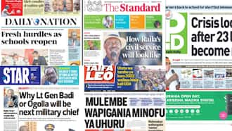 Newspapers Review For July 26: Raila Odinga Speaks About the Kind of Government He Wants to Form in 2022
