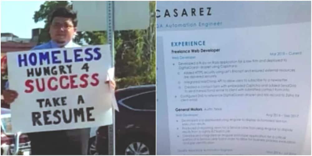 David Casarez got many job offers.