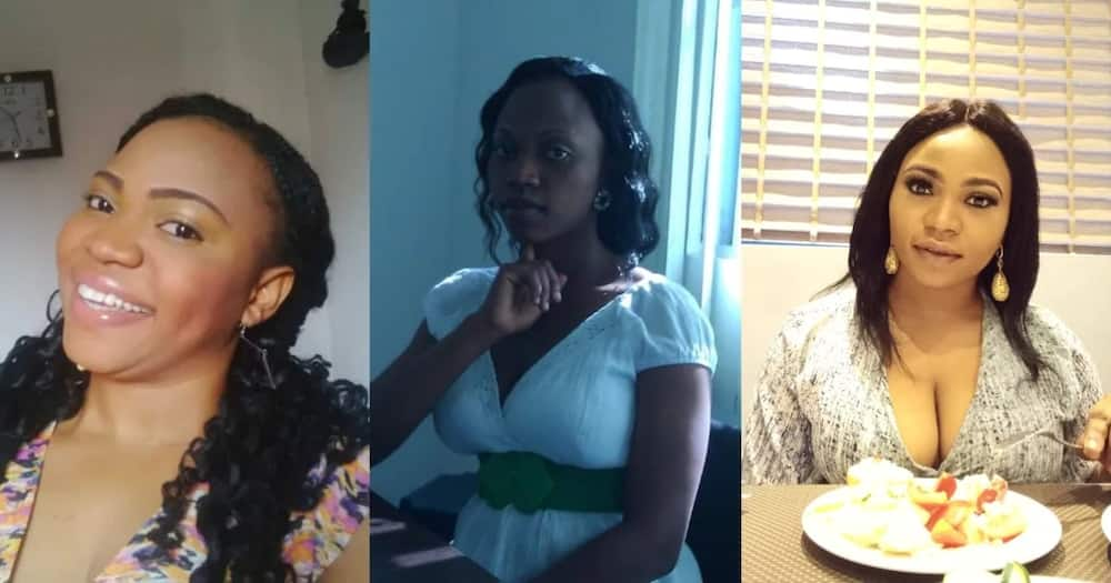 Why I divorced, Lady Summarises in 4 pictures How Bad Marriage Affected Her