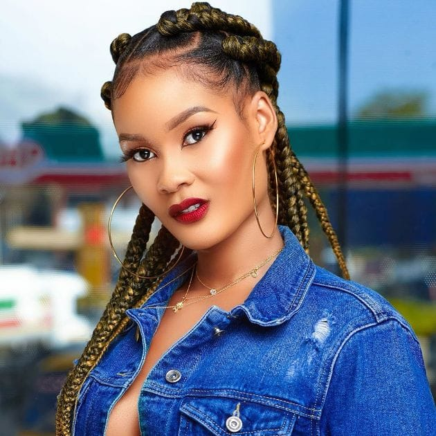 Hamisa Mobetto steps out wearing similar outfit as football icon Cristiano Ronaldo