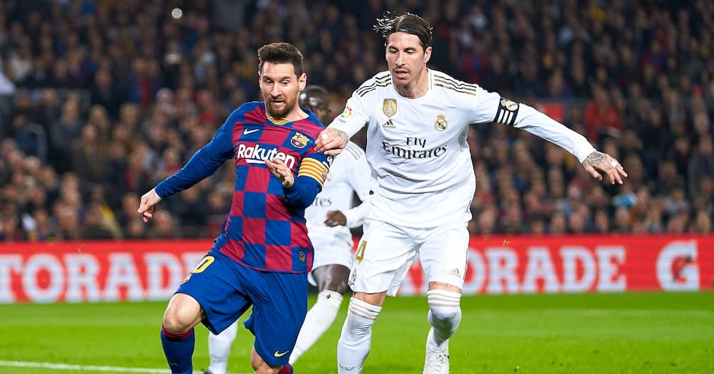 Messi and Ramos in the past.