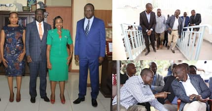 Raila hosts Migori grass root leaders after DP Ruto's visit