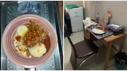 Man served beans and yam after paying KSh 2,922 at hotel