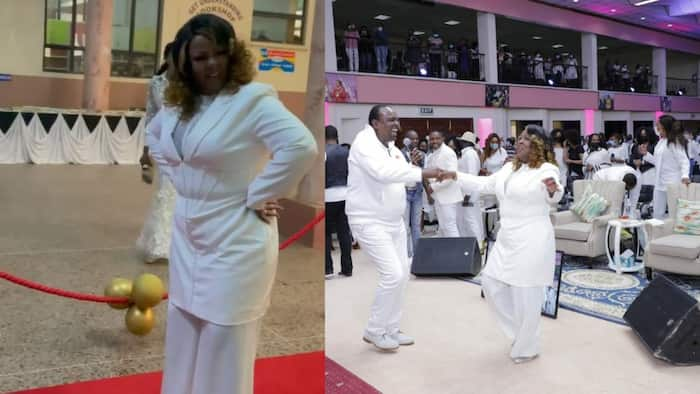 Kathy Kiuna's Hubby, Friends Throw Pastor Tasteful Surprise Dinner on Her Birthday