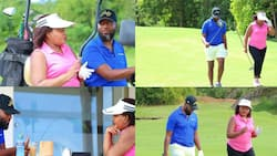 Hassan Joho, Anne Waiguru Link-Up for Fun Day At Golf Course
