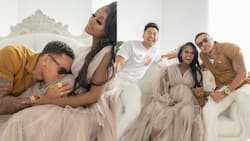 Vanessa Mdee and Rotimi Hold Lovely Baby Shower for Their Unborn Child