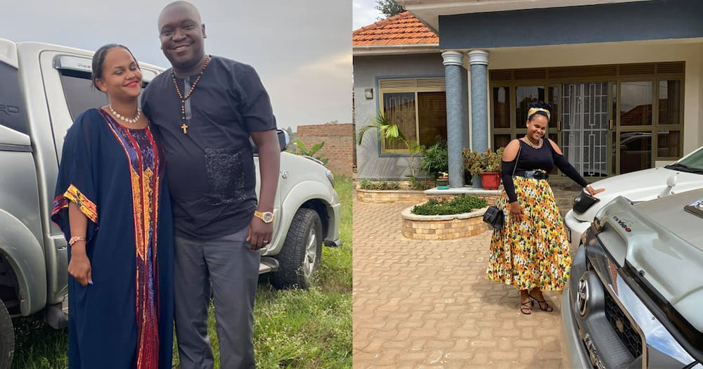 Patrick Salvado and his wife.