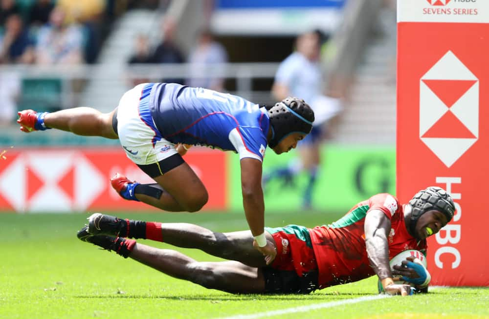 London 7s: Onyala bags hat-trick as brave Kenya edge Samoa 21-20 at Twickenham