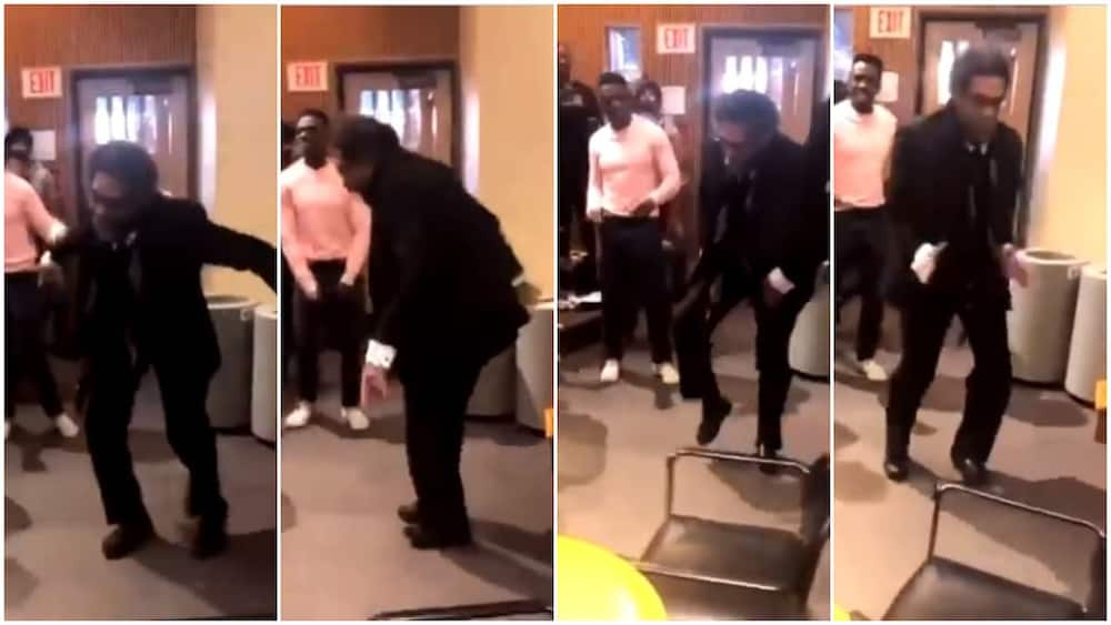 US Harvard university prof scatters dance floor with cool moves in the presence of students, video goes viral