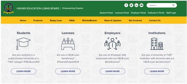 HELB Portal - account registration and activation -portal.helb.co.ke