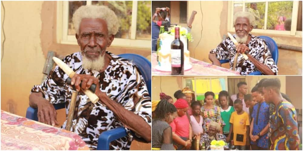 Social media celebrates man who clocks 113 years and doesn't look his age