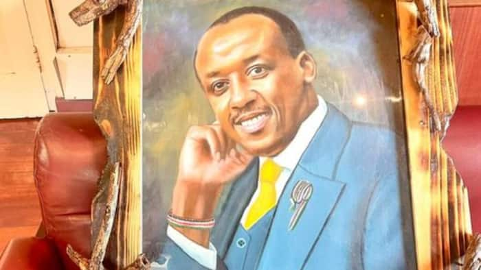 Mutula Kilonzo Jnr in Search of Artist Who Painted His Fascinating Portrait