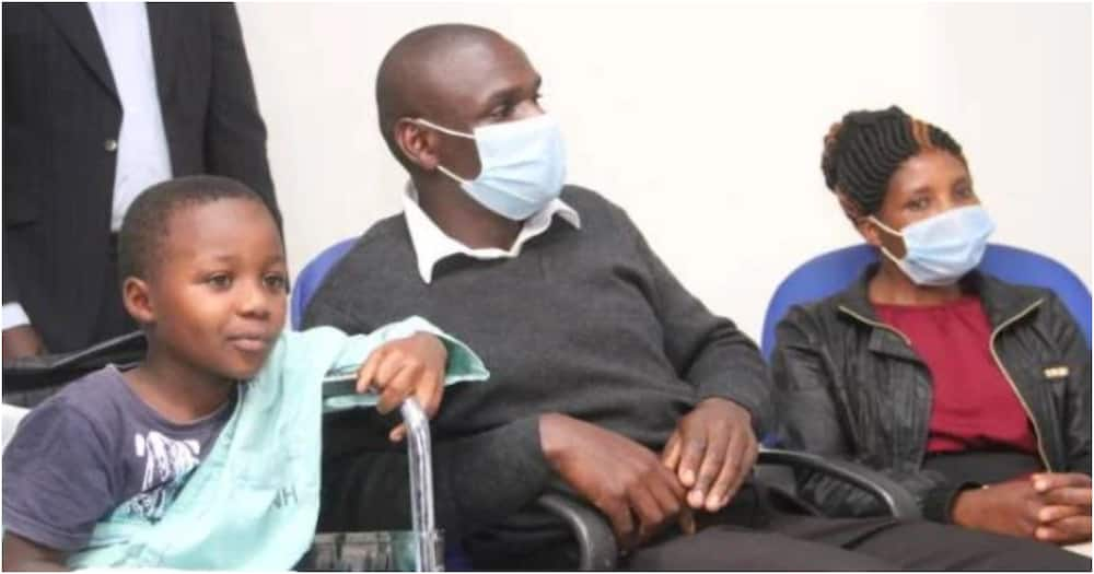 KNH reattaches hand of 7-year-old boy after it was accidentally chopped