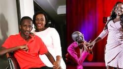 """Celestine Ndinda Celebrates Hubby Njugush in Cute Message as He Turns 30: """"Umeanza Kuzeeka"""""""