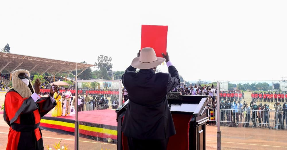 Yoweri Museveni Sworn-in for Sixth Term, Promises to Uphold Democracy