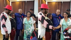 Papa Shirandula's Widow Left in Tears after Jalang'o Promises to School Daughter Till University