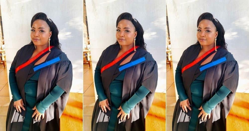 Dimakatso Makinta has shared an inspiring story towards realising her dreams. Image: Facebook