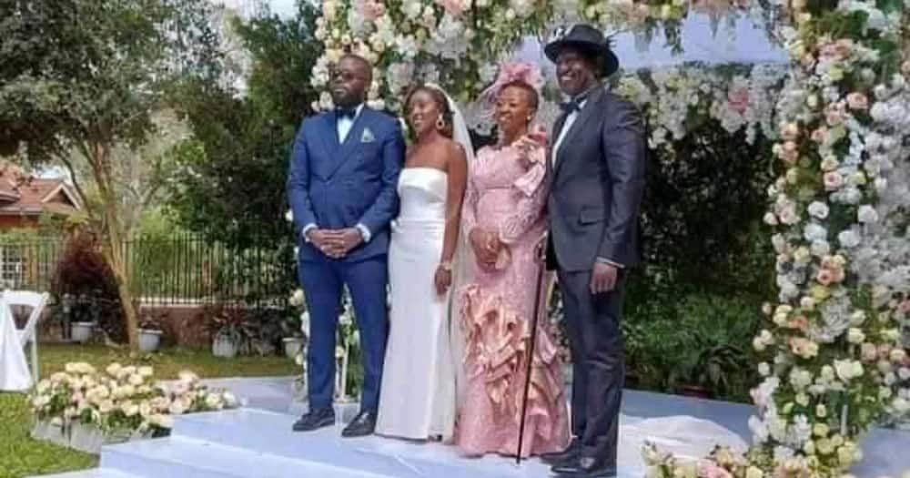 Kenyan Men Cry Foul as June Ruto Weds Nigerian Lover in Colourful Ceremony