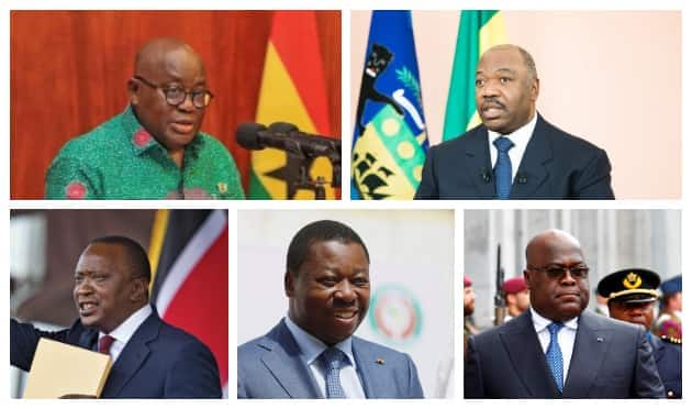 Some of current African presidents have had their fathers occupying the same seat.