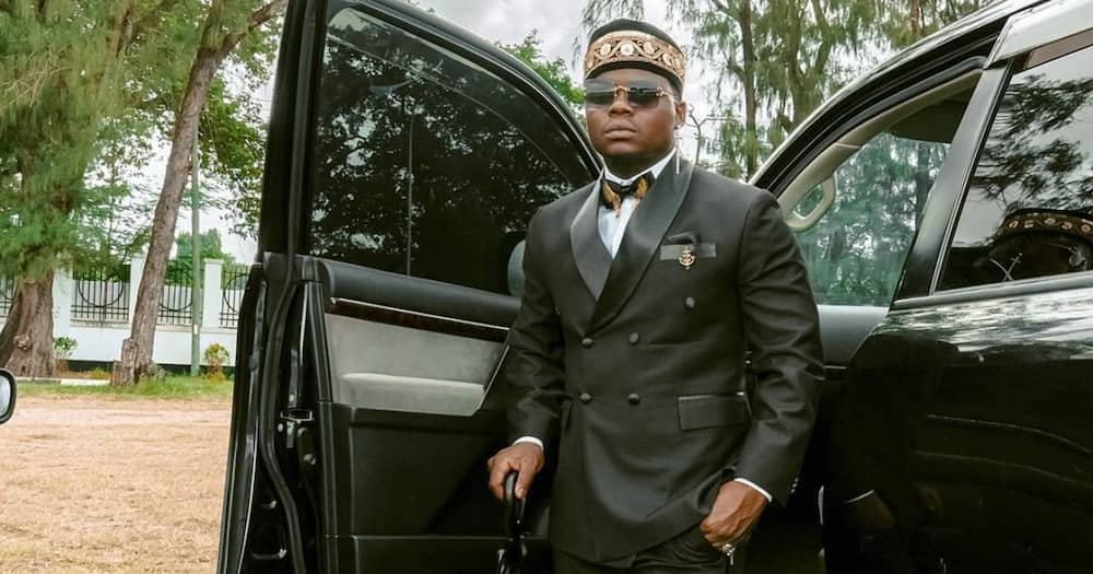 Harmonize says daughter is not to blame for the breakup with Sarah.