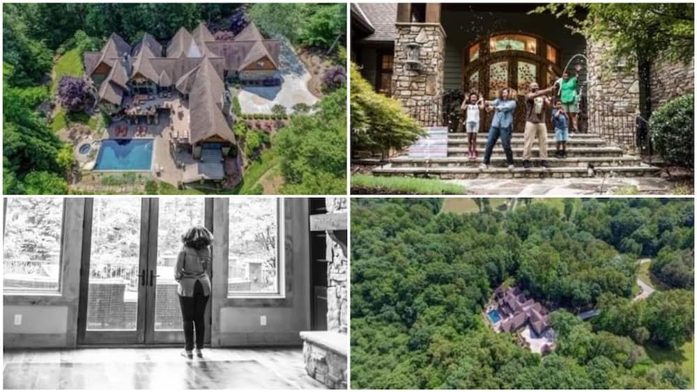 Woman makes it big, buys mansion sitting on 53-acre-land