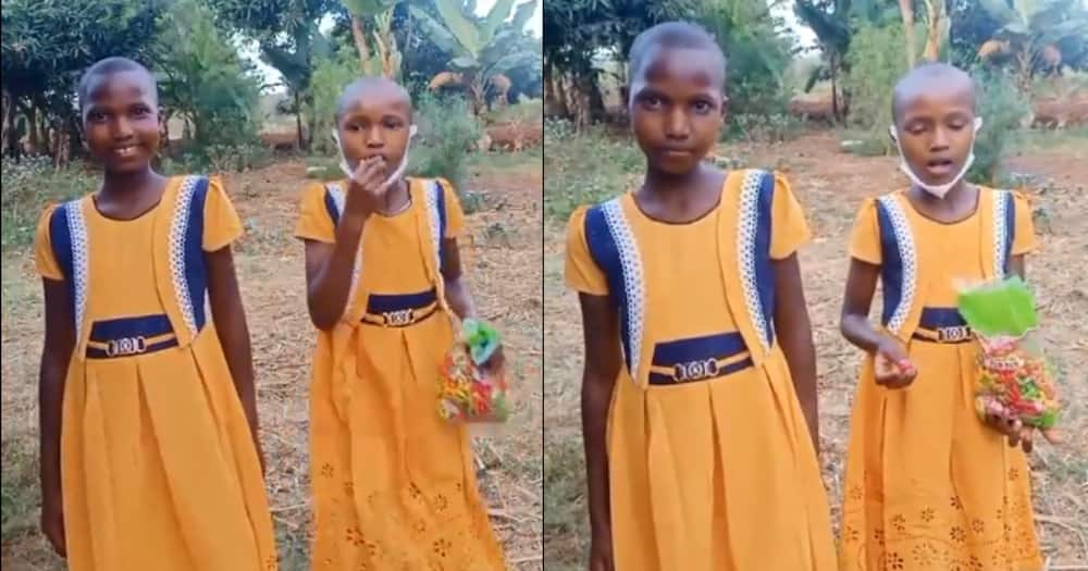 2 Murang'a girls abandoned by their parents receive help from well-wishers