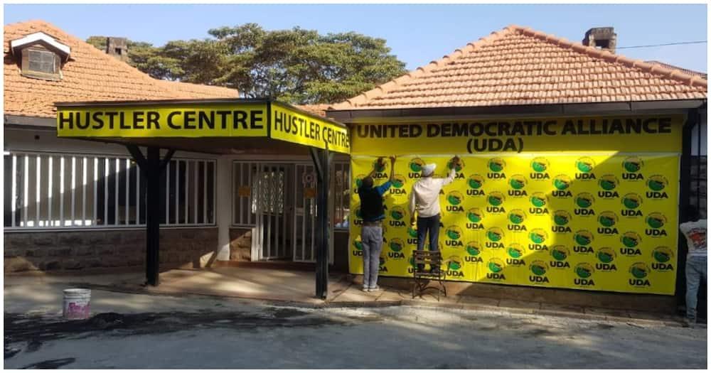 United Democratic Alliance party headquarters on Makindi road, Nairobi. Photo: Dennis Itumbi.