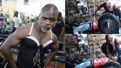 "Video of Ugali Man Aggressively Training Man at His Gym Leaves Kenyans Stunned: ""Wacha Ikae"""