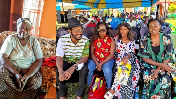 Papa Shirandula's Mother Valeria Wafula Buried in Busia, Former Cast from TV Show Attend Interment