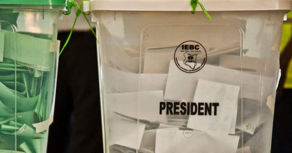 A ballot box. Photo: IEBC