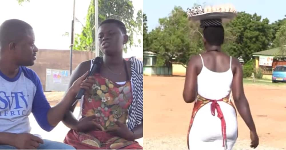 Paulina Blay: 19-year-old Ghanaian Narrates how she Takes care of her Child by Herself