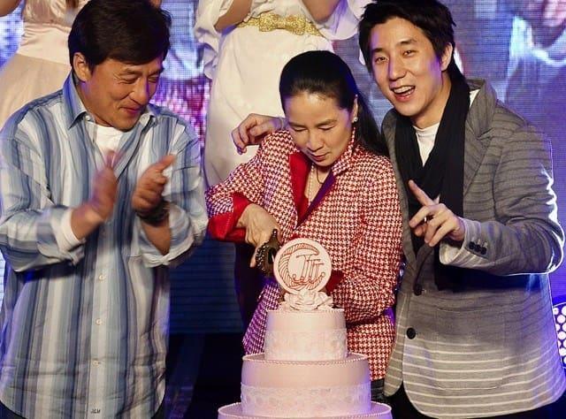 Jackie Chan's wife