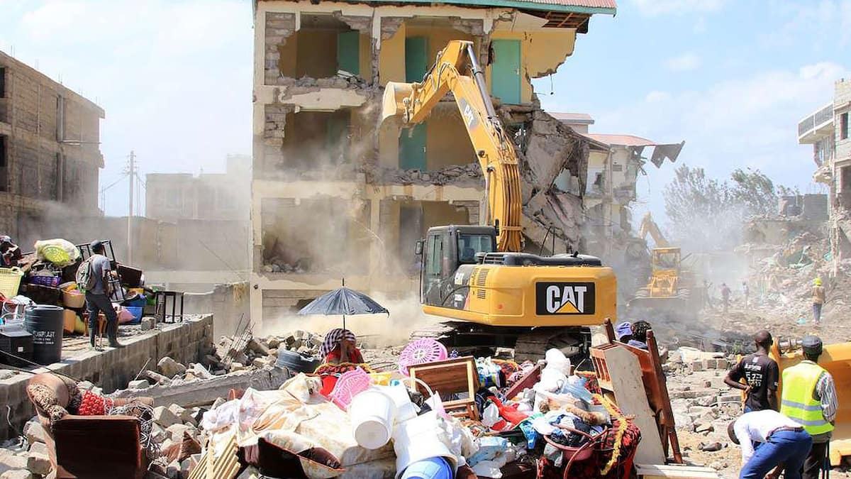 Government bans any form of property demolitions countrywide following public outcry