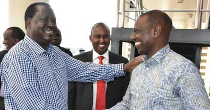 Ruto declares an end to his longstanding political animosity with Raila Odinga