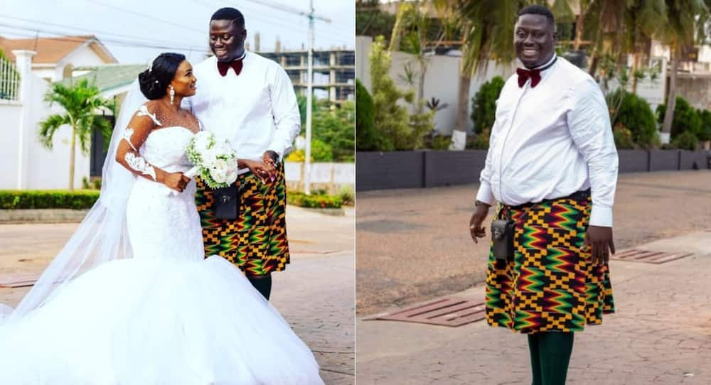 Jaden Haab: Man takes fashion to another level; wears 'skirt' during his wedding (Photos)